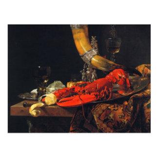 Stillleben durch Willem Kalf Postkarte