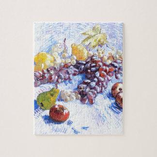 Stillleben mit Äpfeln, Birnen, Trauben - Van Gogh