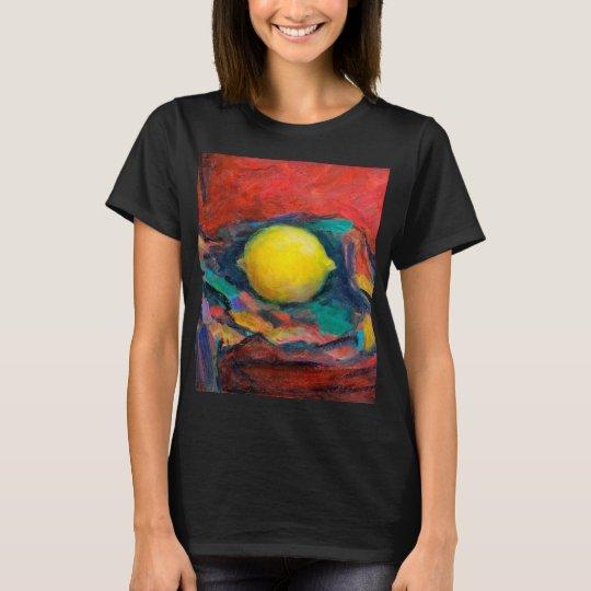 Stillleben mit Zitrone T-Shirt