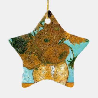 Stillleben: Sonnenblumen - Vincent van Gogh Keramik Ornament