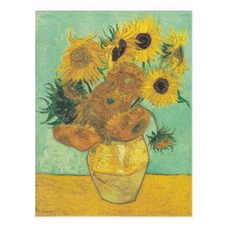 Stillleben: Sonnenblumen - Vincent van Gogh Postkarte