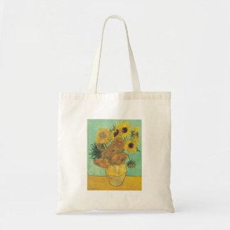 Stillleben: Sonnenblumen - Vincent van Gogh Tragetasche