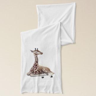Stillstehender junger Giraffen-Schal Schal