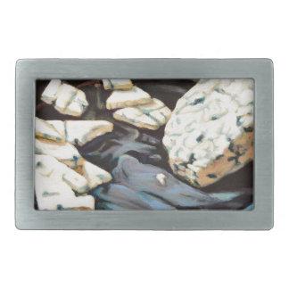 Stilton Käse Rechteckige Gürtelschnallen