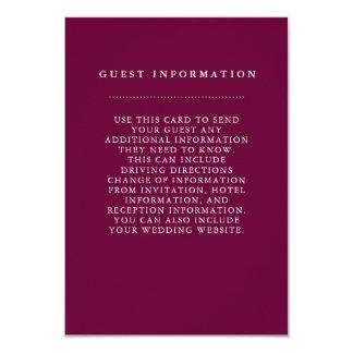 Stilvolle 8,9 X 12,7 Cm Einladungskarte