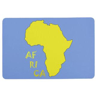 Stilvolle Afrika-Karten-Boden-Matte Bodenmatte
