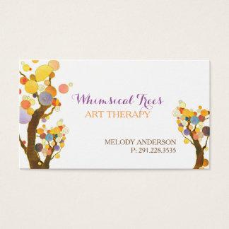 Stilvolle Baum-Therapeut-Termin-Karten Visitenkarten