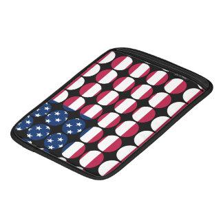Stilvolle Girly schicke Tupfen-amerikanische Sleeve Für iPads