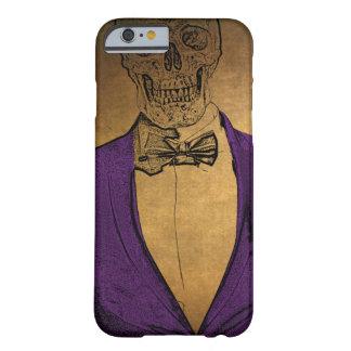 Stilvolle Knochen Skeleton in einem Anzug Barely There iPhone 6 Hülle