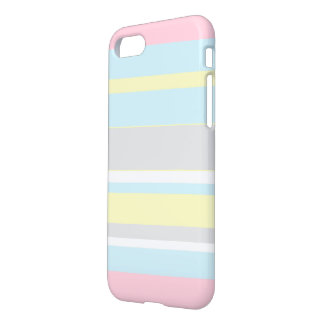 Stilvolle Pastellfarbstreifen IPhone 8/7 Fall iPhone 8/7 Hülle