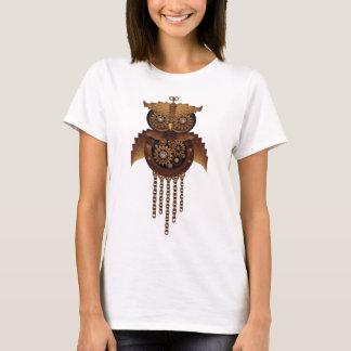 Stilvolle surreale Steampunk Eule T-Shirt