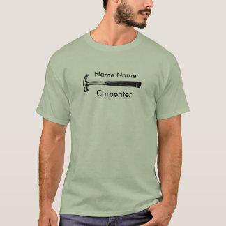 Stilvoller Geschäfts-Tischler T-Shirt