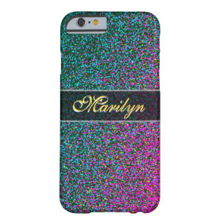 Stilvoller Glitter-Zauber Barely There iPhone 6 Hülle