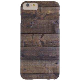 Stilvoller hölzerner Blick - Natur-hölzerne Barely There iPhone 6 Plus Hülle