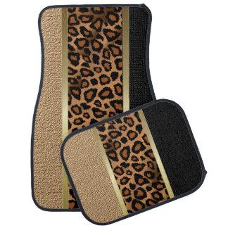 Stilvoller Leopard-Tierdruck-Muster | TAN Automatte