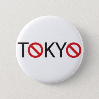 stilvoller und ordentlicher Tokyo-Entwurf Runder Button 5,7 Cm