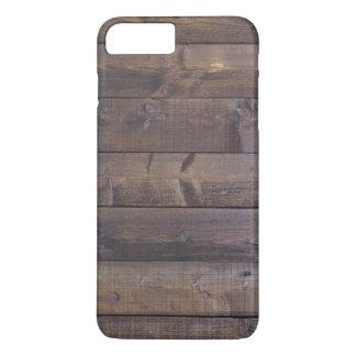Stilvolles hölzernes Muster - Natur-hölzerne iPhone 8 Plus/7 Plus Hülle