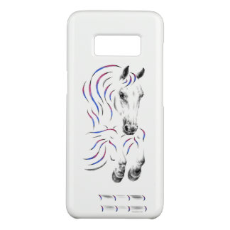 Stilvolles springendes Pullover-Pferd Case-Mate Samsung Galaxy S8 Hülle