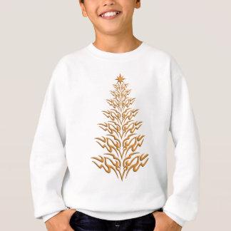 Stilvolles Weihnachtsbaum-Shirt Sweatshirt