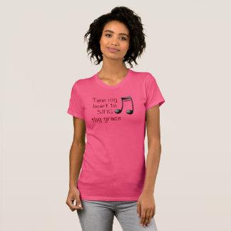 Stimmen Sie mein Herz ab --- T - Shirt - Damen