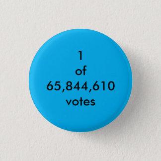 Stimmenmehrheit Runder Button 2,5 Cm