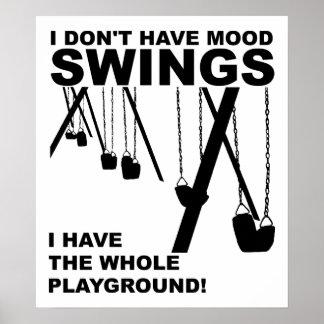 Stimmungs-Spielplatz-lustiges Plakat