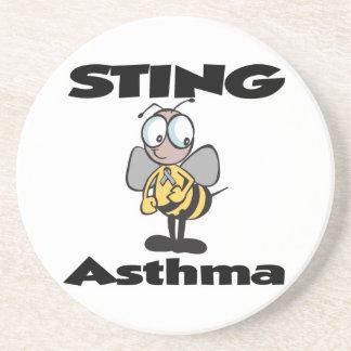 STING-Asthma Getränkeuntersetzer