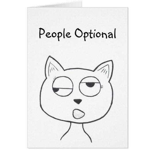 Stinkeye Katzenminzenkarte Karte