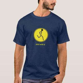 Stock mit ihm: Läufer (Gelb) T-Shirt