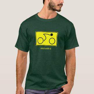 Stock mit ihm: Radfahrer (Gelb) T-Shirt