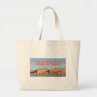 Stockholm, Schweden Jumbo Stoffbeutel