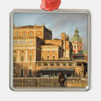Stockholm, Schweden Silbernes Ornament