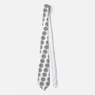 Stolpernde Gymnastik-Wort-Wolke Individuelle Krawatten