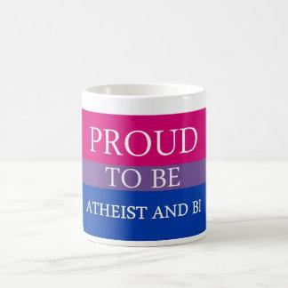Stolz, atheistisch und Bi zu sein Kaffeetasse