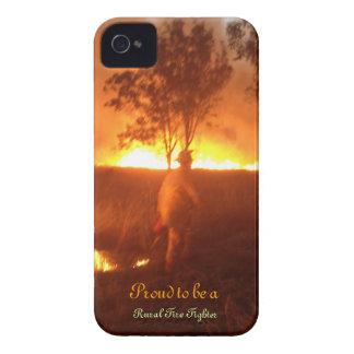 Stolz, ein ländlicher Feuerwehrmann Iphone 4g BTC iPhone 4 Hülle