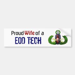 Stolz, EODTech, EOD-Ehefrau Autoaufkleber