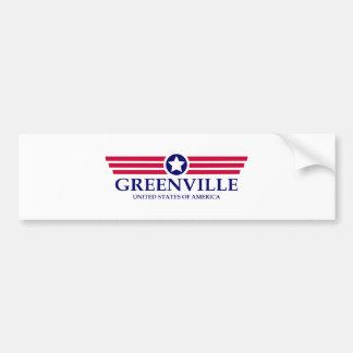 Stolz Greenvilles NC Autoaufkleber