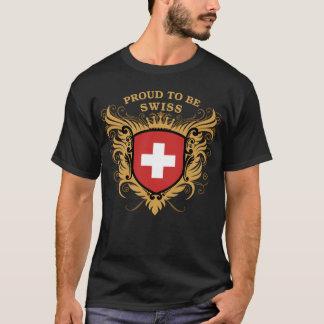 Stolz, Schweizer zu sein T-Shirt