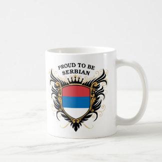 Stolz, serbisch zu sein kaffeetasse