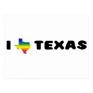 Stolz Texas GLBT Postkarte