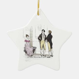 Stolz u. Vorurteil Elizabeth Slighted von Herrn Keramik Ornament
