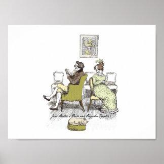 Stolz u. Vorurteil - Herr und Frau Bennet Poster