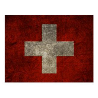 Stolz und Schweizer Postkarte