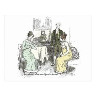 Stolz und Vorurteil - Anmerkung für Jane Postkarte