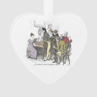 Stolz und Vorurteil - Elizabeth Bennet führt durch Ornament