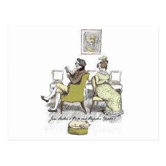 Stolz und Vorurteil - Herr und Frau Bennet Postkarte