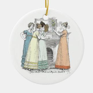 Stolz und Vorurteil - wartete die Herren Keramik Ornament