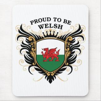 Stolz, Waliser zu sein Mauspads