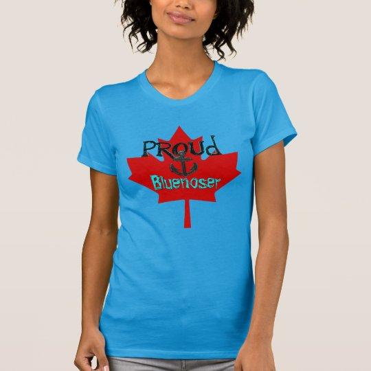Stolze Bluenoser Kanada Shirt Atlantik-Küste