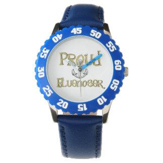 Stolze Bluenoser Neuschottland Ankeruhr Armbanduhr